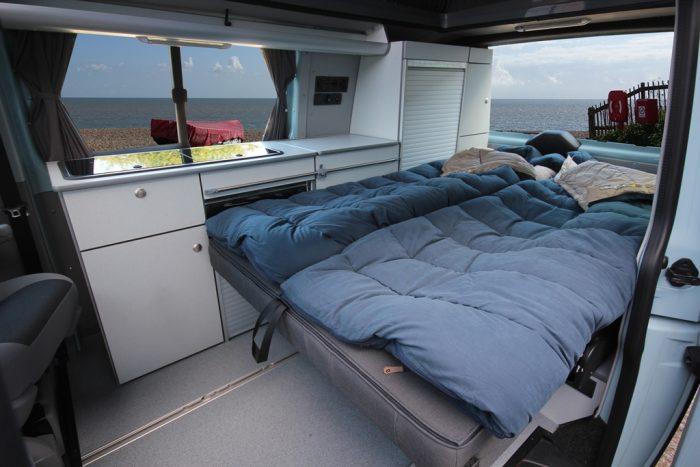 Bed installation VW Escape