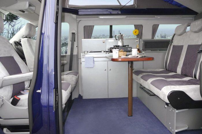 VW City Van Table