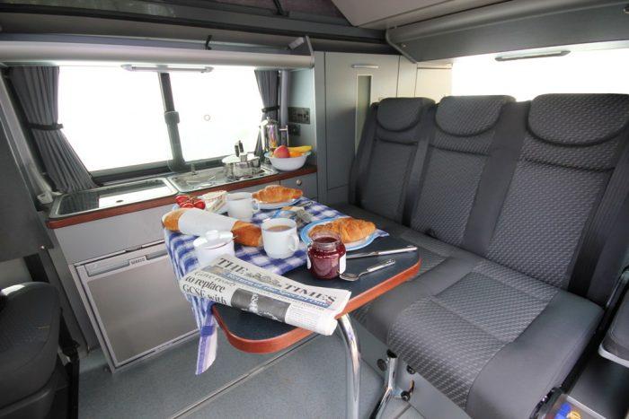 VW T6 Trio Style Flexible Table
