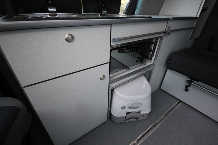 Porta Potti VW Escape Van