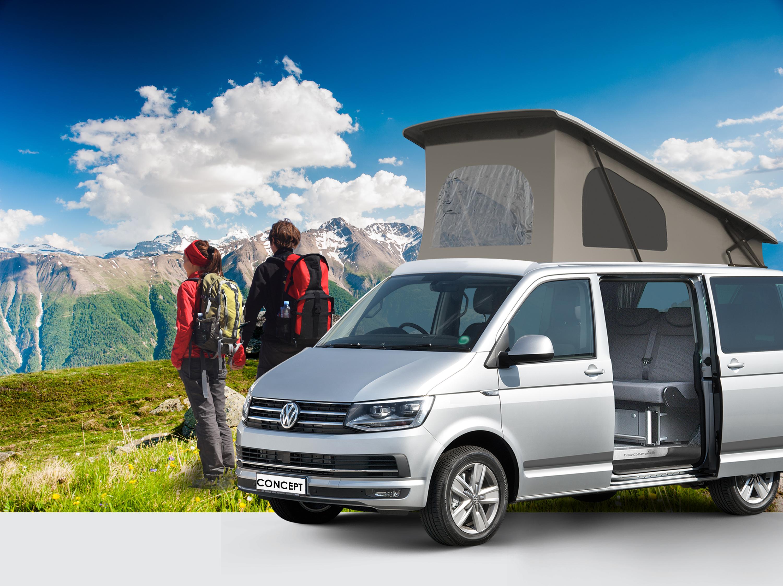VW T6 Range   CMC   Our Range of VW T6 Campervans