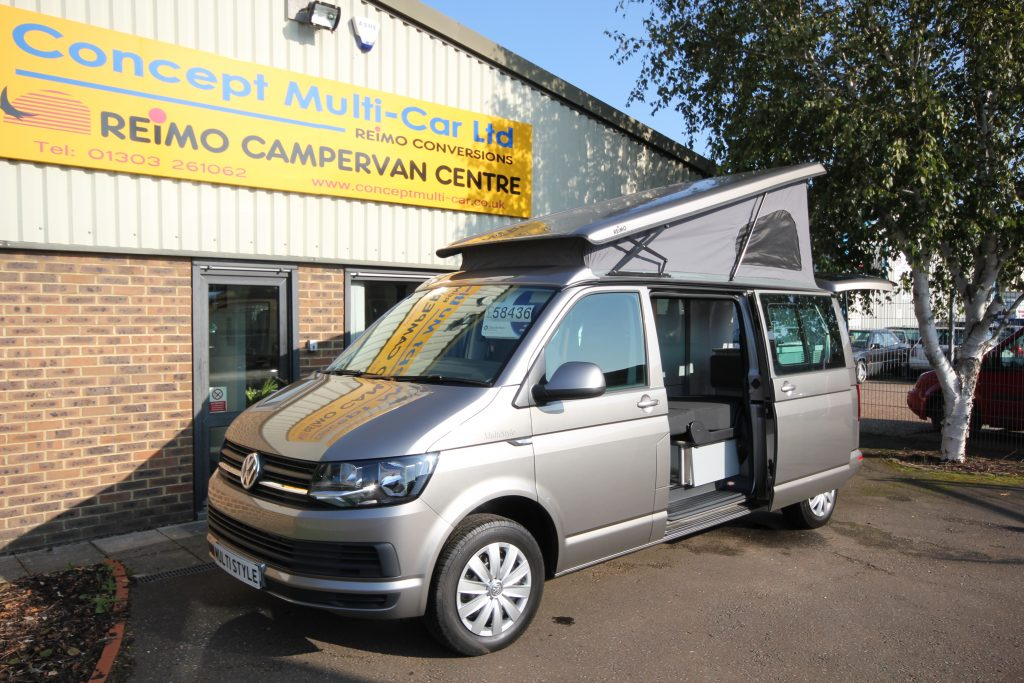 cmc reimo t6 multistyle concept multi car vw and reimo campervan conversions and dealers. Black Bedroom Furniture Sets. Home Design Ideas