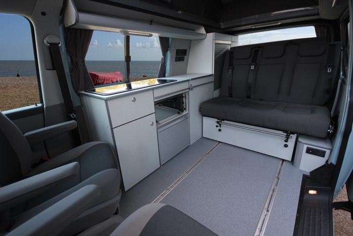 VW Escape - Lounge area