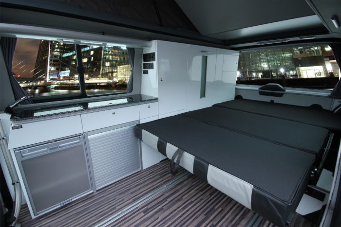 Flexible Boot Area Bed Conversion