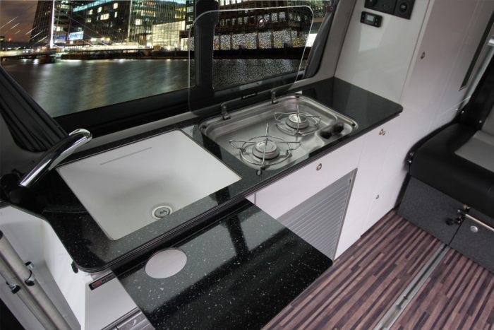 VW T6 Trio Style Kitchen Furniture