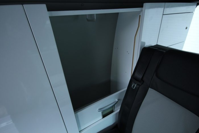 VW T6 Trio Style Cupboard Space